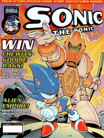 Sonic the Comic 181 (May 17, 2000)