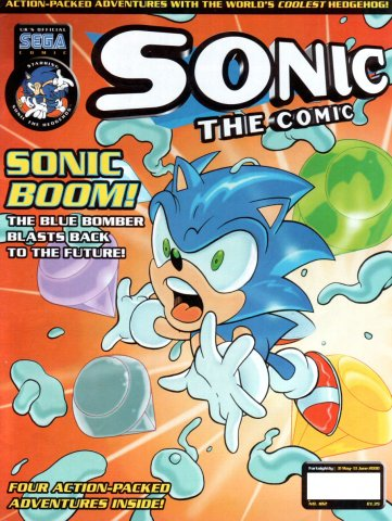 Sonic the Comic 182 (May 31, 2000)