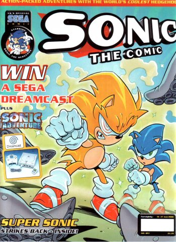 Sonic the Comic 183 (June 14, 2000)