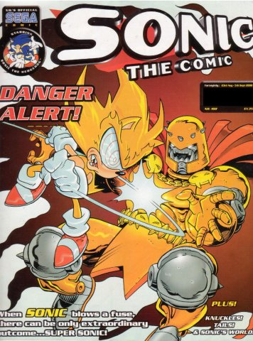 Sonic the Comic 188 (August 23, 2000)