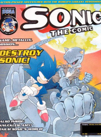 Sonic the Comic 190 (September 20, 2000)