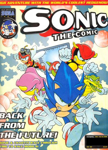 Sonic the Comic 192 (October 18, 2000)
