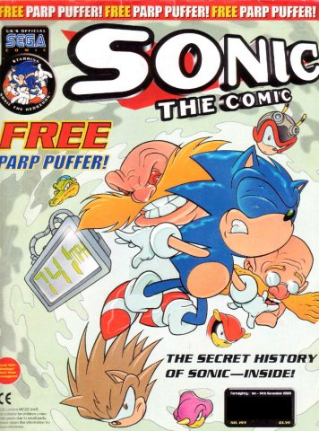 Sonic the Comic 193 (November 1, 2000)