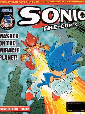 Sonic the Comic 201 (February 21, 2001)