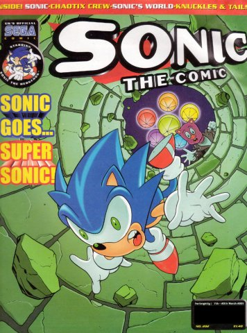 Sonic the Comic 202 (March 7, 2001)
