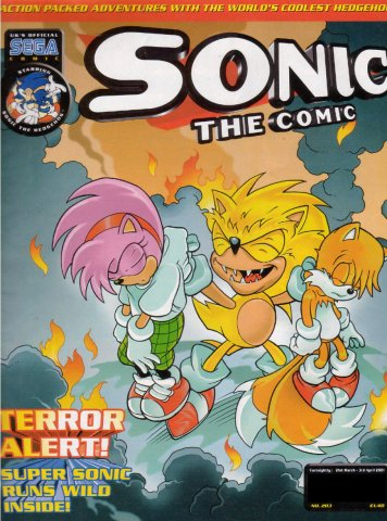 Sonic the Comic 203 (March 21, 2001)