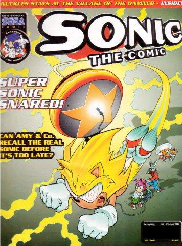 Sonic the Comic 204 (April 4, 2001)