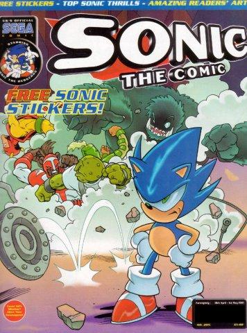 Sonic the Comic 205 (April 18, 2001)
