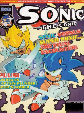 Sonic the Comic 207 (May 16, 2001)