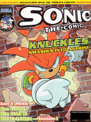 Sonic the Comic 208 (May 30, 2001)