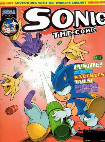 Sonic the Comic 211 (July 11, 2001)
