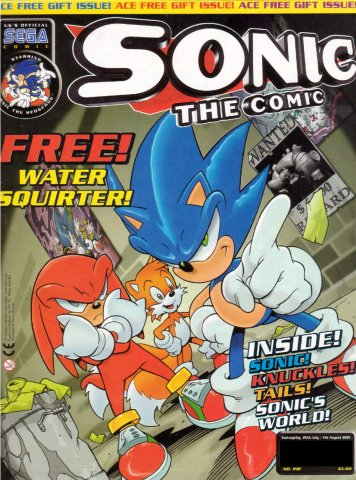 Sonic the Comic 212 (July 25, 2001)
