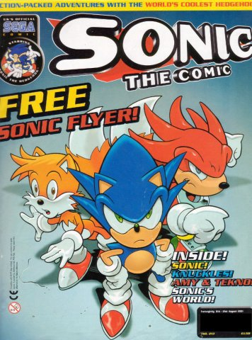 Sonic the Comic 213 (August 8, 2001)
