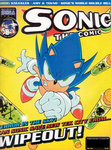 Sonic the Comic 214 (August 22, 2001)