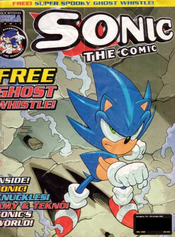 Sonic the Comic 218 (October 17, 2001)