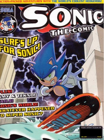 Sonic the Comic 219 (October 31, 2001)