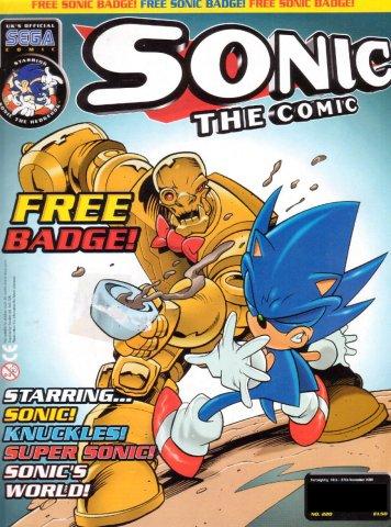 Sonic the Comic 220 (November 14, 2001)