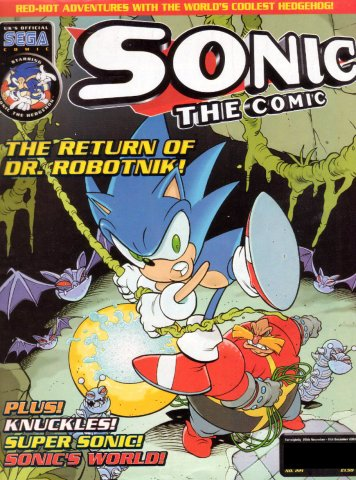 Sonic the Comic 221 (November 28, 2001)