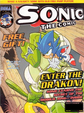 Sonic the Comic 222 (December 12, 2001)