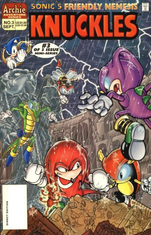 Sonic's Friendly Nemesis: Knuckles 03 (September 1996)