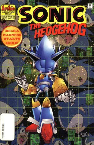 Sonic the Hedgehog 039 (October 1996)