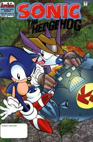 Sonic the Hedgehog 040 (November 1996)