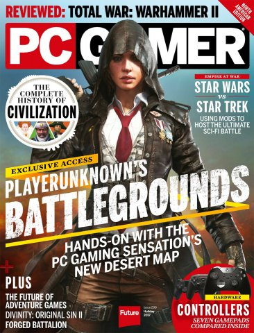 PC Gamer Issue 299 (Holiday 2017)