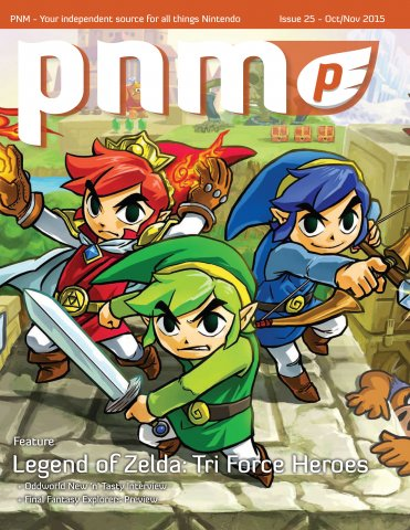 Pure Nintendo Magazine Issue 25 October-November 2015