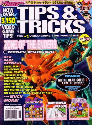 Tips & Tricks Issue 075 (May 2001)