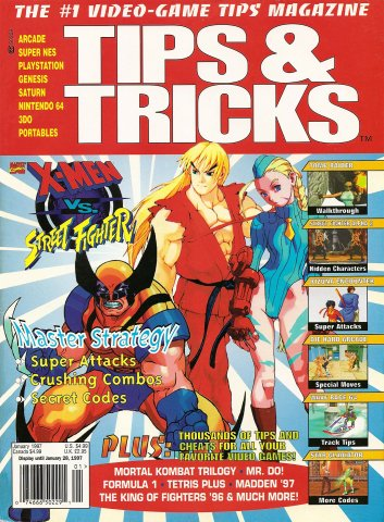 Tips & Tricks Issue 023 (January 1997)