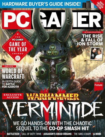 PC Gamer Issue 301 (February 2018)