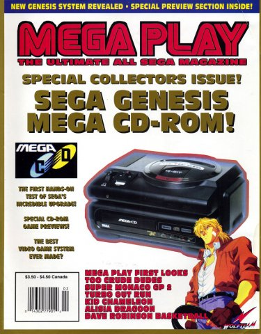 Mega Play Vol.3 No.1 January/February 1992
