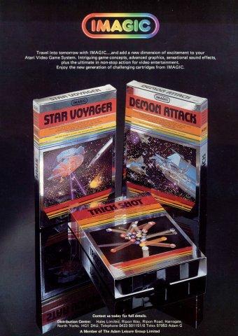 Star Voyager, Demon Attack, Trick Shot