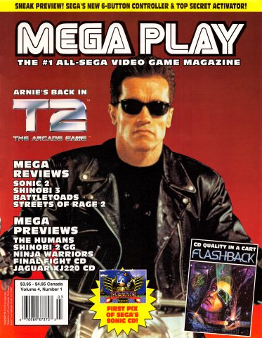 Mega Play Vol.4 No.1 (February 1993)