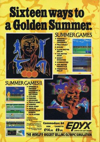 Summer Games, Summer Games II