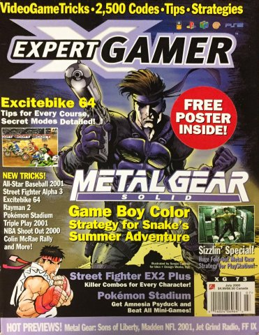 Expert Gamer Issue 73 (July 2000)
