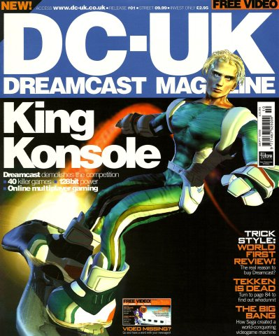 DC-UK Issue 01 (September 1999)