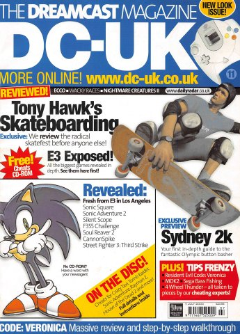 DC-UK Issue 11 (July 2000)