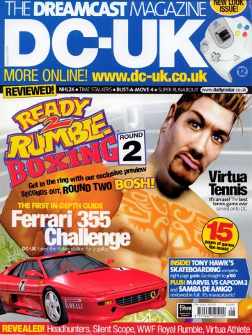 DC-UK Issue 12 (August 2000)