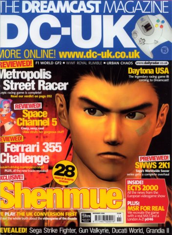 DC-UK Issue 15 (November 2000)