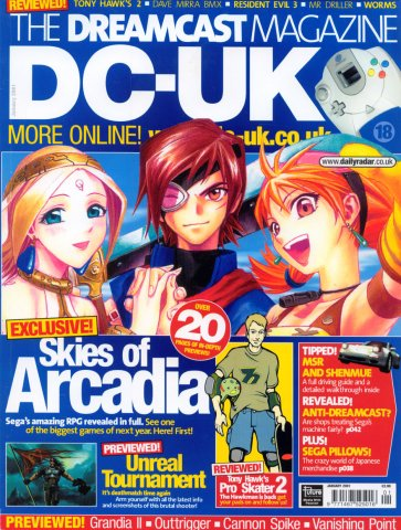 DC-UK Issue 18 (January 2001)