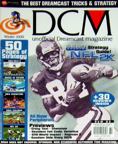 DCM Unofficial Dreamcast Magazine Issue 2 (Winter 2000)