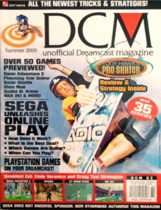 DCM Unofficial Dreamcast Magazine Issue 3 (Summer 2000)