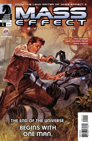 Mass Effect - Evolution 001 (cover a) (January 2011)