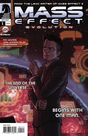 Mass Effect - Evolution 001 (cover b) (January 2011)