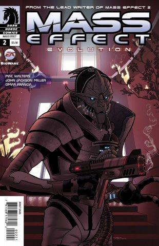 Mass Effect - Evolution 002 (cover b) (February 2011)