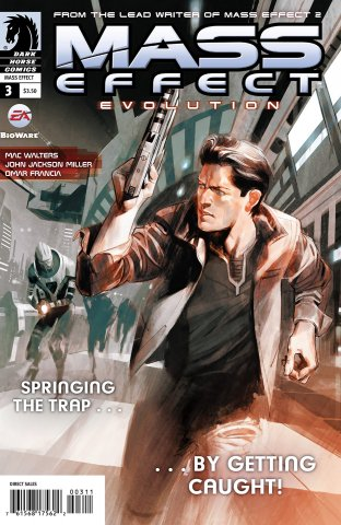Mass Effect - Evolution 003 (cover a) (March 2011)