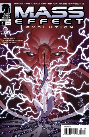 Mass Effect - Evolution 004 (cover b) (April 2011)
