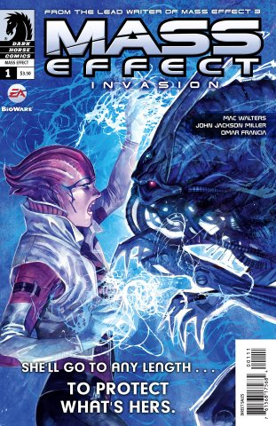 Mass Effect - Invasion 001 (cover a) (October 2011)