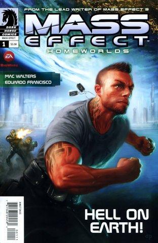 Mass Effect - Homeworlds 001 (cover a) (April 2012)